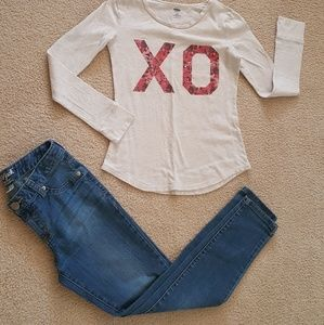 Girls Size Size 10/12 Girls outfit Old Navy